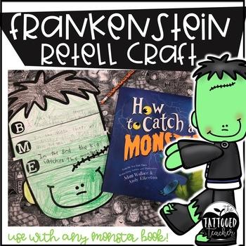 Frankenstein Monster Retell Craft