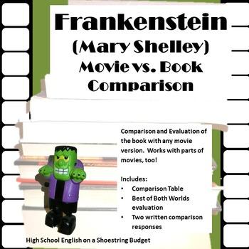 Frankenstein Movie vs. Book Comparison (Mary Shelley)