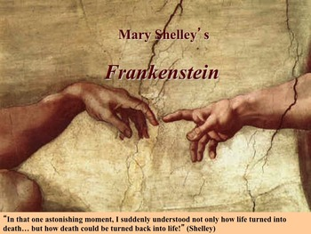 Frankenstein Novel Study Unit ~ Includes Reproducible Graphic Organizers