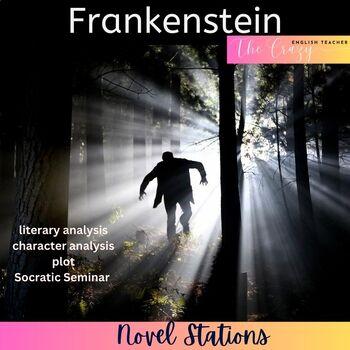 Frankenstein Novel Literacy Stations