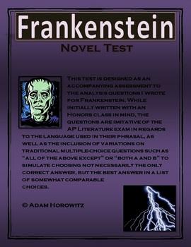 Frankenstein Novel Test