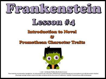 Frankenstein Novel and Promethean Theme Introduction