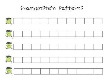 Frankenstein Patterns