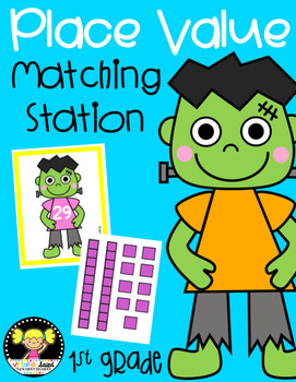 Frankenstein Place Value: Matching Station