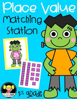 Frankenstein Place Value: Matching Station