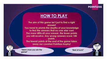 Frankenstein: Pointless Game!
