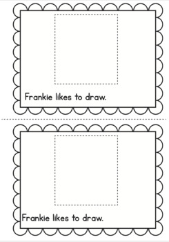Frankenstein Printable Reader - Frankie