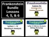 Frankenstein Intro & Promethean Analysis BUNDLE (Unit Less