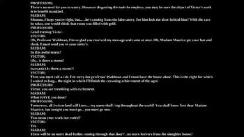 Frankenstein Readers Theater PowerPoint