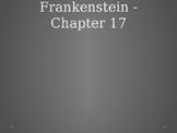 Frankenstein - Reading #18 Chapter 17