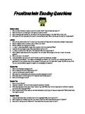 Frankenstein Reading Questions