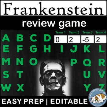 Frankenstein Review Game