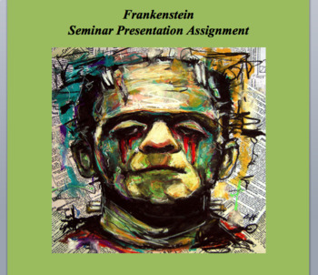 Frankenstein Seminar Assignment