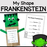 Frankenstein Craft - A Halloween Shape Craft