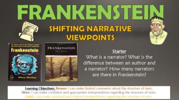 Frankenstein: Shifting Narrative Perspectives