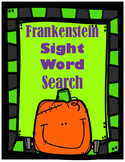 Frankenstein Sight Word Search