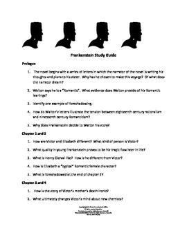 Frankenstein Study Guide -CC Aligned