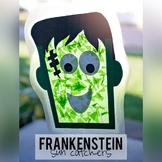 Frankenstein Sun Catcher Craftivity (Halloween)