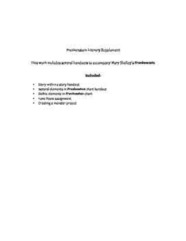 Frankenstein Supplemental Handouts