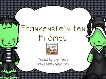Frankenstein Ten Frames