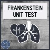 Frankenstein Test & Answer Key - AP Literature