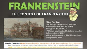 Frankenstein: The Context of Frankenstein