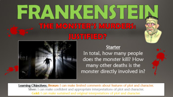 Frankenstein: The Monster's Murders: Justified?