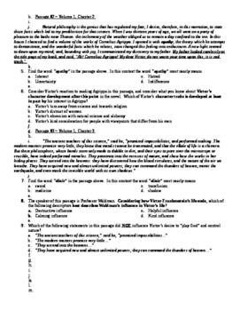 Frankenstein Unit Exam