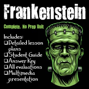 Frankenstein Unit (No prep)