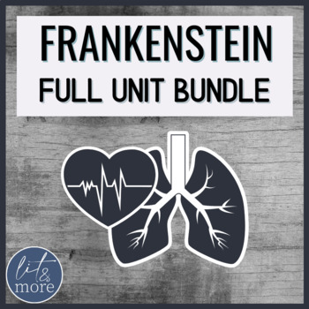 Frankenstein Unit for AP Lit