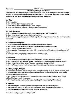Frankenstein Vital Passage Analysis: Final Writing Assessment