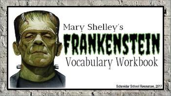 Frankenstein: Vocabulary Workbook