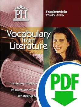 Frankenstein Vocabulary from Literature