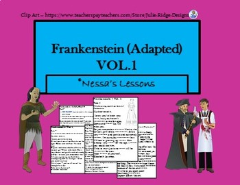 Frankenstein adapted teaching resources teachers pay teachers 1 adapted frankenstein vol 1 adapted fandeluxe Image collections