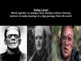 "Frankenstein Volume 1, Chapter 4 Socratic Seminar: ""It's Alive!"""