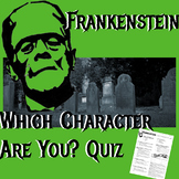 Frankenstein: Which Character Are You? Quiz