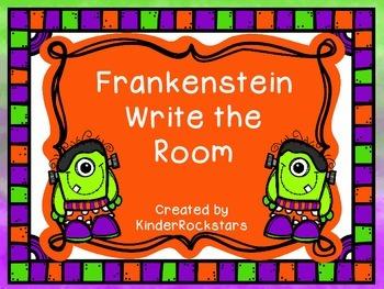 Write the Room Halloween Frankenstein