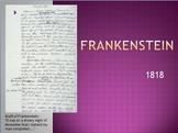 """Frankenstein: a Modern Prometheus"" Mary Shelley Powerpoint"