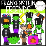 Frankenstein and Friends Clipart Pack