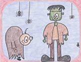 Frankenstein and Igor Directed Draw