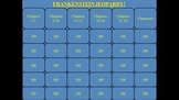 Frankenstein by Mary Shelley Jeopardy PowerPoint Game