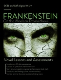 Frankenstein or the Modern Prometheus by Mary Shelly Lessons and Quizzes