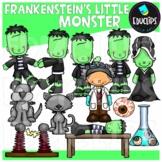 Frankenstein's Little Monster Clip Art Bundle {Educlips Clipart}