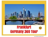 Frankfurt Germany Tour Project - Digital or Printable - distance learning
