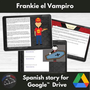 Frankie El Vampiro - Spanish reading activity - Google Drive