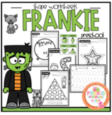 Frankie Shapes and Worksheets 55 pages of No Prep