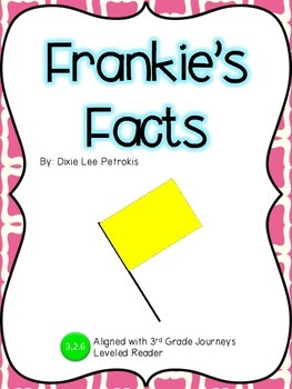 Frankie's Facts Guided Notes: Journeys 3rd Grade