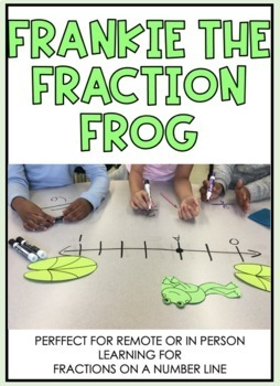 Frankie the Fraction Frog - Fractions on a Number Line