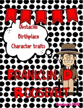 Franklin D. Roosevelt {Character Man}