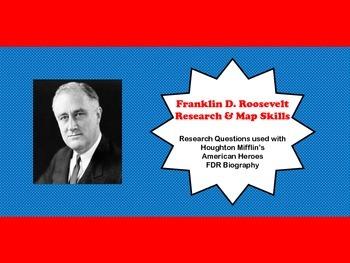 Franklin D. Roosevelt (3rd Grade Historical Figure)